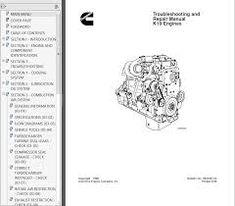 13 Best catalog for marine diesel engines kta19 images