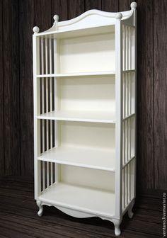 Стеллаж Классик - белый,подставка,Мебель,вентано,прованс,мебель ручной работы