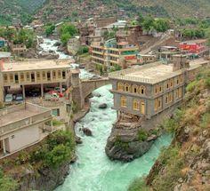 Bahrain Hill, Swat Valley, Pakistan.  Pinned from Tumblr, Pakistan365