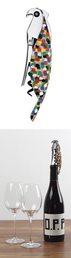 Parrot Corkscrew Multi by  Alessandro Mendini // really cool