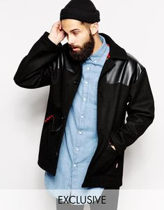 Reclaimed Vintage X Combat Donkey Jacket- why do hipsters love skinhead classics .__.