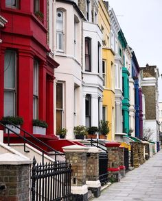 The colours of Portobello London