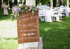 Wedding Menu, Wedding Blog, Wedding Events, Our Wedding, Dream Wedding, Wedding Ideas, Weddings, Beaded Mirror, Wedding Countdown