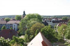 Ausblick vom Fangelturm auf der #Burg #Wesenberg. Foto: Mecklenburgische Kleinseenplatte Touristik #meckpomm #mecklenburg #vorpommern #seenplatte