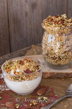 Quinoa Crunch Cereal | Art and the Kitchen