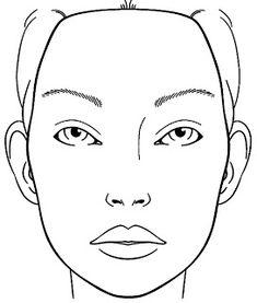 face chart - Szukaj w Google   make-up   Pinterest   Face ...