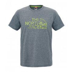 THE NORTH FACE Woodcut Dome S/S férfi póló