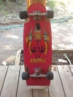 Rare 1978 Vintage Dogtown Skateboard