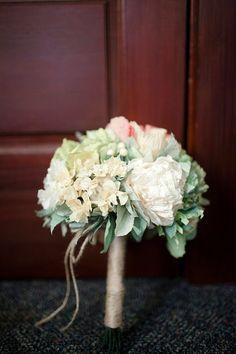 Custom Paper Flowers Bridal Bouquet