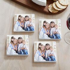 A Personal Creations Exclusive! Delight your guests with our memorable Photo Coasters.