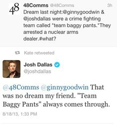 Josh's twitter