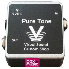 Een extreem neutraal doosje dat volledig compenseert voor signaalverlies door een reeks effectpedalen: de Truetone (voorheen Visual Sound) Pure Tone buffer! Zelfs de hoge tonen blijven volkomen intact met deze line-booster.