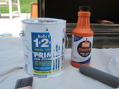 Floetrol. It  minimizes  visible brush strokes while painting furniture. @Courtney Kellum