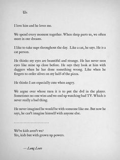More poetry & prose by Lang Leav