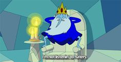 "Plus, he doesn't care whether you like him or not. | Community Post: 18 Reasons We Still Love The Ice King From ""Adventure Time"""