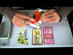 I have had several people email me on how I made my own iPhone skins.  Here's my video on how I did it.  Stampin' Up