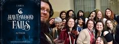 A fun shot of several Havenwood Falls authors at Penned Con 2017.