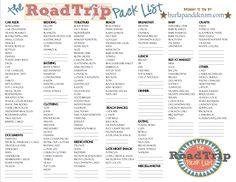 http://burlapanddenim.com/2012/06/the-road-trip-pack-list/