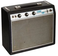 1968 Fender Champ Black Guitar Amplifier, Serial # A136 Lot 85183