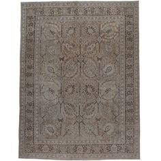 Shop persian rugs and other antique and modern rugs from the world's best furniture dealers. Tabriz Rug, Rugs On Carpet, Carpets, Magic Carpet, Living Room Carpet, Modern Rugs, Carpet Runner, Persian Rug, Cool Furniture