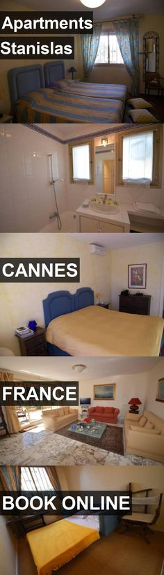 Hotel Apartments Stanislas in Cannes, France. For more information, photos, reviews and best prices please follow the link. #France #Cannes #ApartmentsStanislas #hotel #travel #vacation