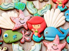 ❋ Mermaid Party Cookie Collection