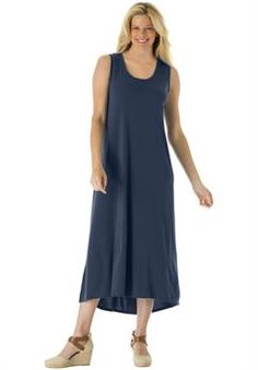 Shop for Sleeveless button front utility dress and more Plus Size