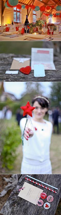 pochette invité avec coeur et etoile en feutrine le-blog-de-madame-c-mariage-en-normandie-fete-foraine-miy-made-in-you-pauline-f-photography-7