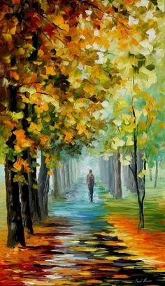 The Music Of The Fall - Leonid Afremov