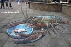 Street Art Photo: This Photo was uploaded by Gerrardinio. Find other Street Art pictures and photos or upload your own with Photobucket free image and v. 3d Street Art, 3d Street Painting, Amazing Street Art, Street Art Graffiti, Street Artists, Road Painting, Chalk Artist, 3d Chalk Art, Illusion Kunst