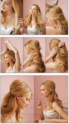 Fine Prom Hair Step By Step Guide And Hairstyles On Pinterest Short Hairstyles Gunalazisus
