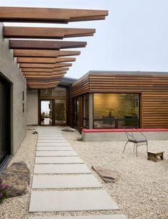 exterior + front walkway