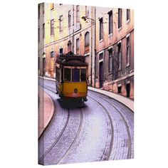 Lisbon Transit' by Dean Uhlinger Photographic Print Gallery-Wrapped Canvas Art