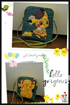 A pouch for pichachu's lover.