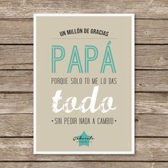 Tarjeta para Papa