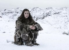 Meera .Season 6. Downcast not know what to do ....  Game of thrones