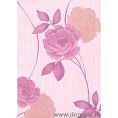 Tapet hârtie Sara  roz