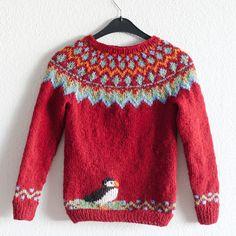 Sweater Knitting Patterns, Knit Patterns, Knitting Socks, Knitting For Kids, Knitting Projects, Baby Knitting, Icelandic Sweaters, Fair Isles, Fair Isle Pattern