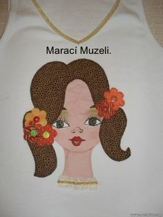 camiseta patchaplique.  muzelimaraci@yahoo.com.br.  Atêlie Talhos e Retalhos-Itanhaém-SP