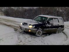 2006 Subaru Forester in snow - YouTube