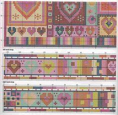 2 foto 5 cuori patchwork bag begi for Alfombras patchwork persas