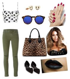 """Untitled #38"" by gabriel-dorsett on Polyvore featuring J Brand, Nly Shoes, Diane Von Furstenberg and Illesteva"