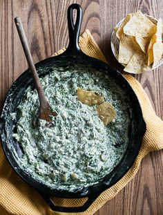 Dip Recipe for Hot Spinach Cream Cheese Dip on Stove Top  --  I really liked this dip!  I liked making it on the stovetop and it was simple to put together.  I liked having the water chestnuts give it a little crunchiness.  I will make this again.  -- Liz