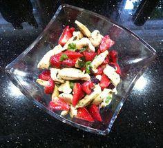 Wessels Küchenwelt: Hähnchen-Erdbeer Teller