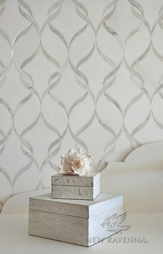Mosaic for kitchen or bathrooms. Comes in many color options.Sophie Mosaic Backsplash | New Ravenna