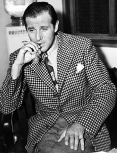 "Benjamin ""Bugsy"" Siegel - Gangster.  Also credited as the man who created Las Vegas.  Siegel built The Flamingo the first hotel on the Strip."