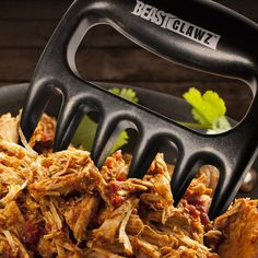Pulled Pork Shredder Meat Claws Shredding Forks Smoked BBQ Meat Grilling Accessories from Grill Beast $8.97
