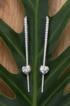 Daring drop earrings are the perfect jewelry statement with Forevermark diamonds.