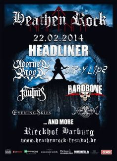 http://www.new-metal-media.de/Heathen%20Rock%20Festival.html Update Festival auf www.new-metal-media.de - Heathen Rock Festival Update Festival at www.new-metal-media.de - Heathen Rock Festival (Germany) - Infos bitte teilen -