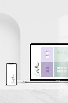 Desktop Organizer Wallpaper plus Desktop ICONS Improve your | Etsy
